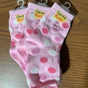 Girls Socks - 1-2yrs - Brand new!